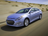 Images of Hyundai Sonata Blue Drive US-spec (YF) 2010