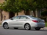 Images of Hyundai Sonata US-spec (YF) 2010