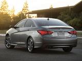 Images of Hyundai Sonata US-spec (YF) 2013