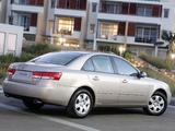 Photos of Hyundai Sonata AU-spec (NF) 2005–07