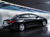 Photos of Hyundai Sonata (YF) 2009