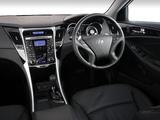 Hyundai Sonata ZA-spec (YF) 2010–13 wallpapers