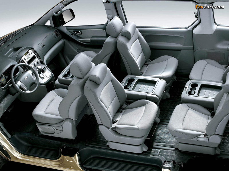 Hyundai Grand Starex 2007 photos (800 x 600)