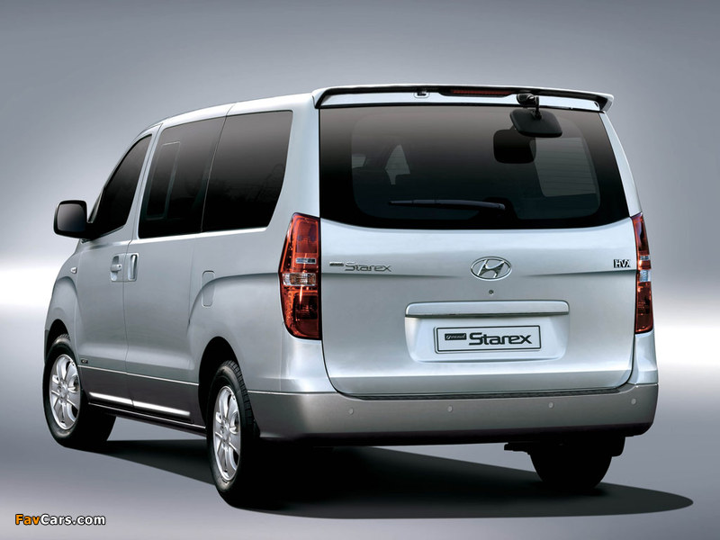Hyundai Grand Starex 2007 pictures (800 x 600)