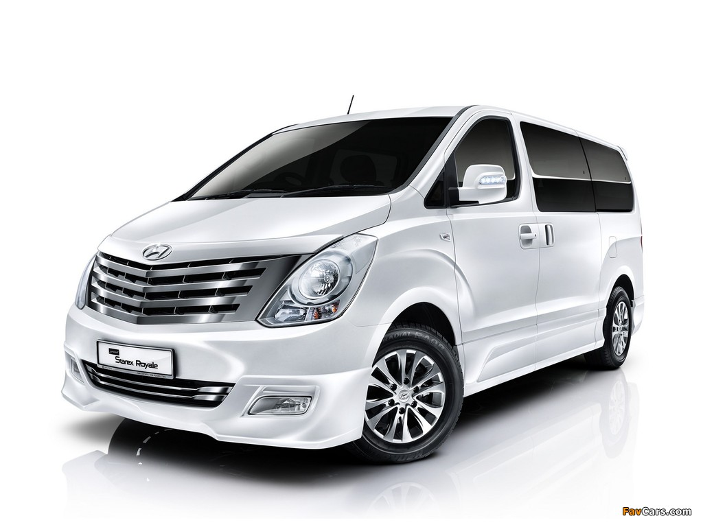 Hyundai Grand Starex Royale 2011 images (1024 x 768)