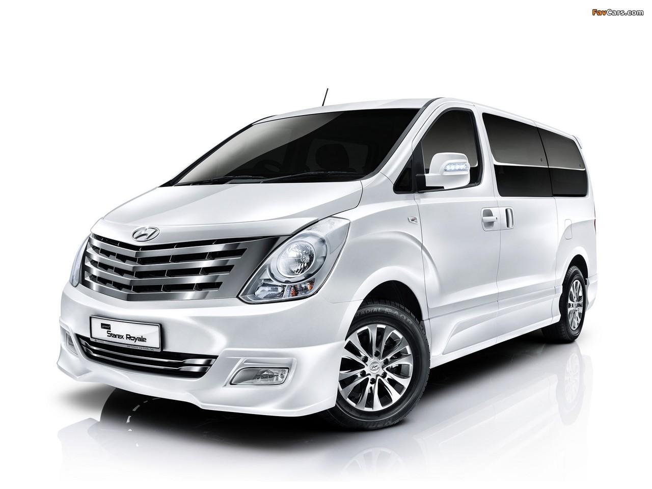 Hyundai Grand Starex Royale 2011 images (1280 x 960)