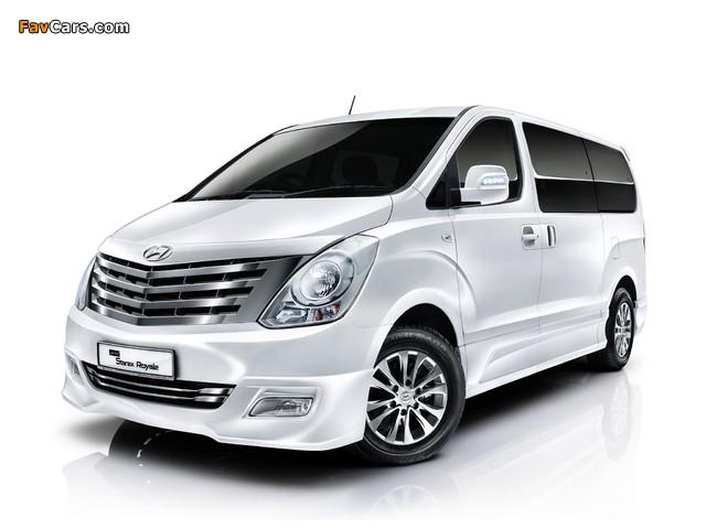 Hyundai Grand Starex Royale 2011 images (640 x 480)