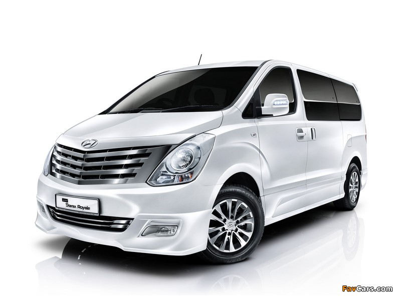 Hyundai Grand Starex Royale 2011 images (800 x 600)