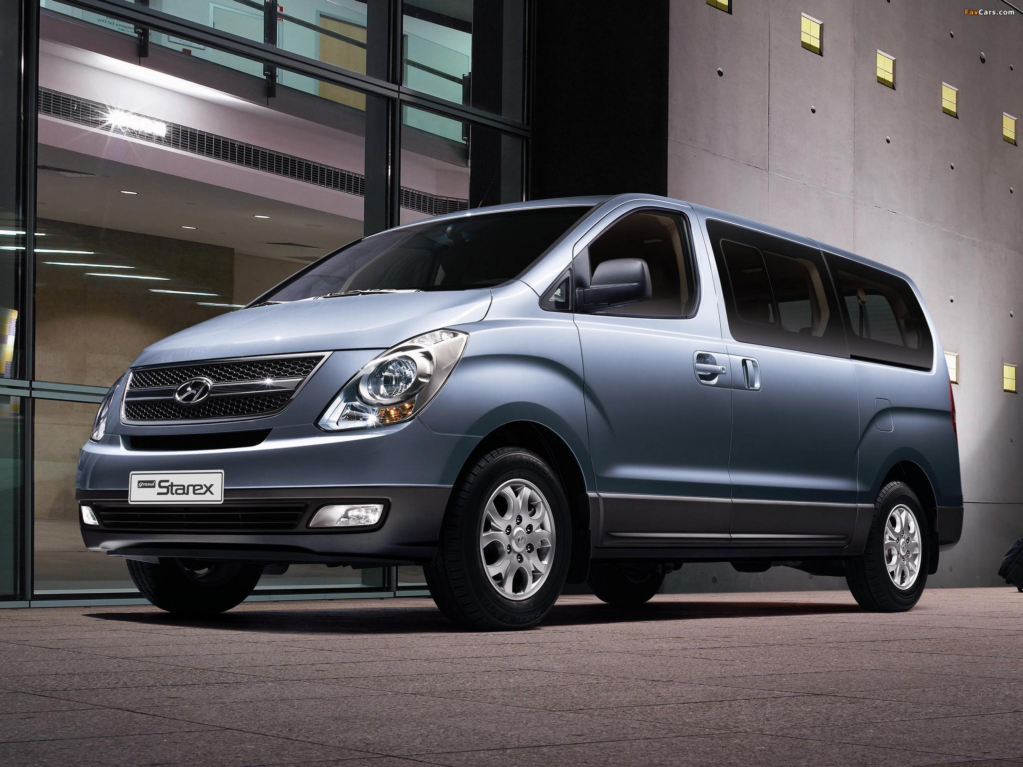 Images of Hyundai Grand Starex 2007 (2048 x 1536)