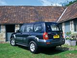 Images of Hyundai Terracan UK-spec 2004–07