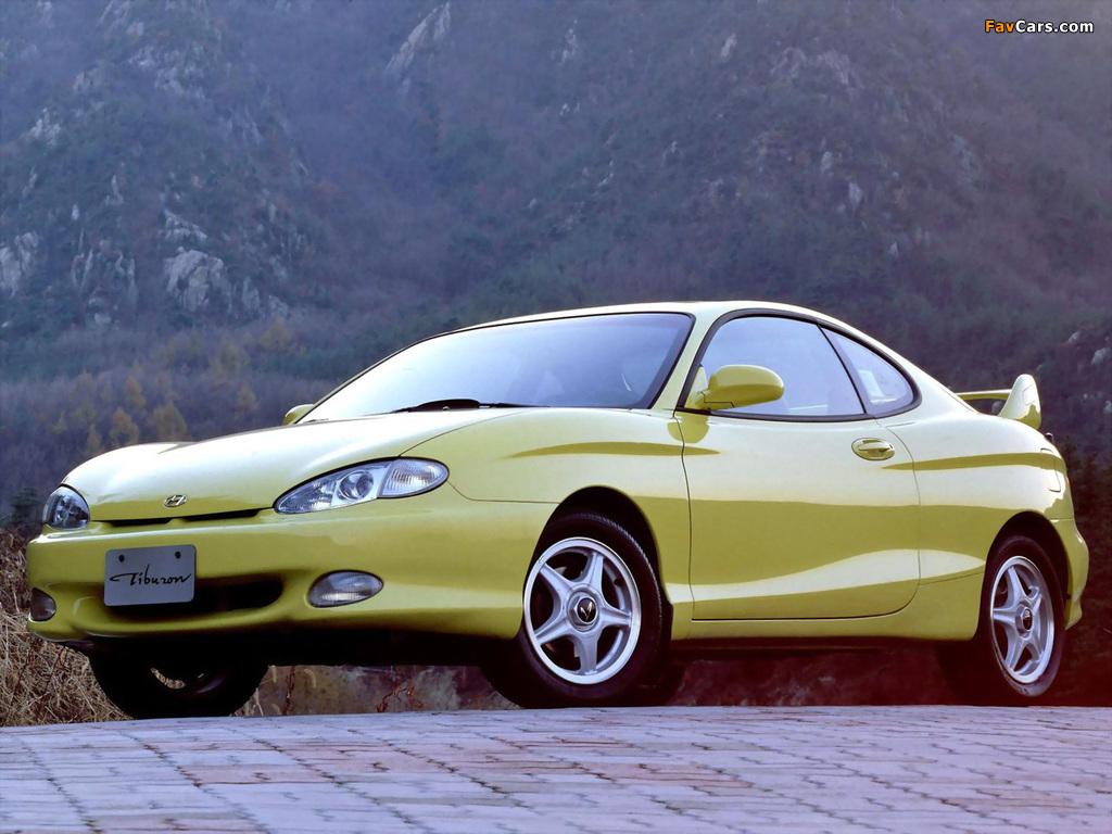 Hyundai Tiburon (RC) 1996–99 wallpapers (1024 x 768)