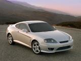 Hyundai Tiburon (GK) 2005–06 pictures