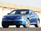 Pictures of Hyundai Tiburon AU-spec (GK) 2007–09