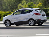 Hyundai Tucson Fuel Cell Prototype 2013 pictures