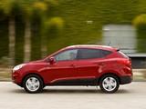 Images of Hyundai Tucson US-spec 2010