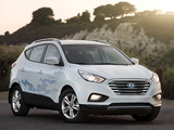 Pictures of Hyundai Tucson Fuel Cell Prototype 2013