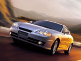 Hyundai Tuscani 2002–05 wallpapers