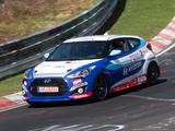 Hyundai Veloster Turbo 24 Hour Nürburgring 2013 photos