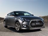 Photos of Hyundai Veloster Turbo US-spec 2012