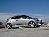 Photos of Hyundai Veloster Turbo AU-spec 2012