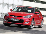 Pictures of Hyundai Veloster 2011