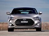 Pictures of Hyundai Veloster Turbo AU-spec 2012