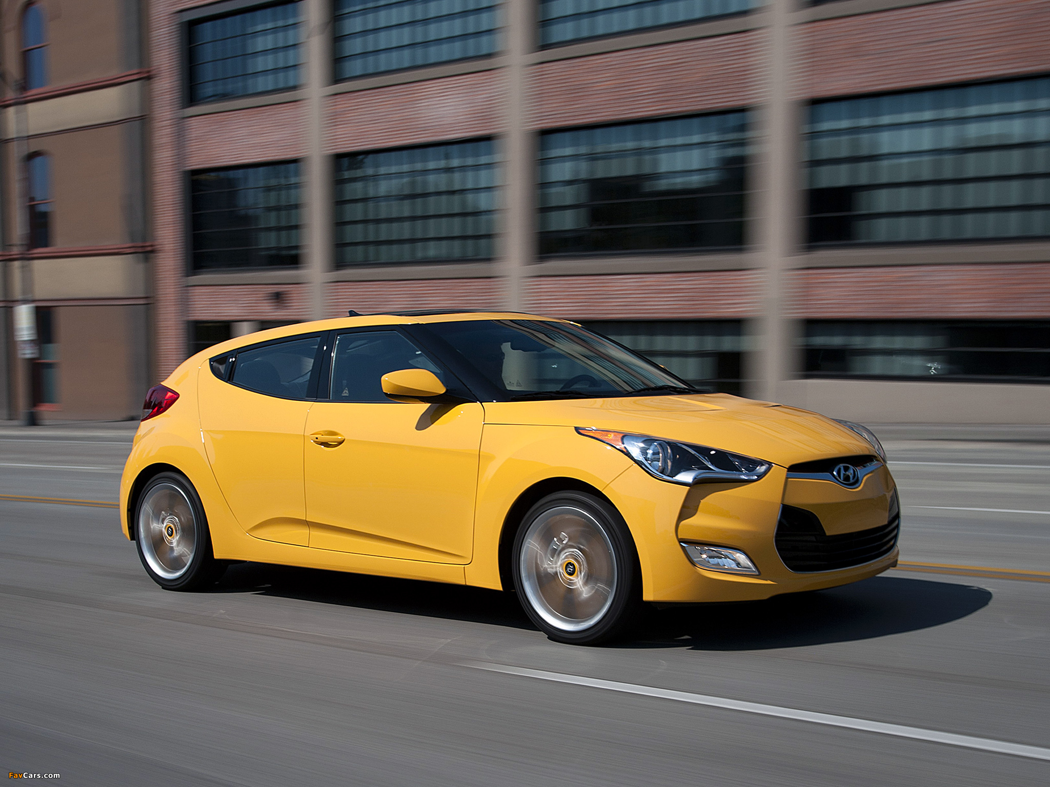 Hyundai Veloster US-spec 2011 wallpapers