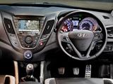 Hyundai Veloster Turbo AU-spec 2012 wallpapers