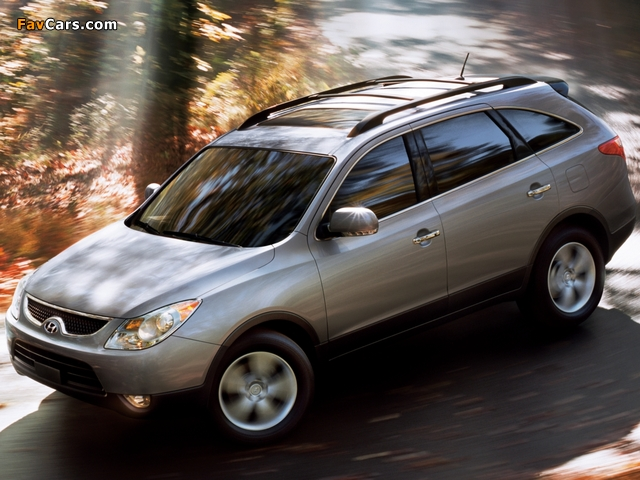 Photos of Hyundai Veracruz 2007–12 (640 x 480)