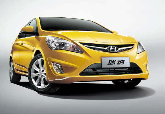 Hyundai Verna Hatchback Rb 2011 Wallpapers
