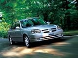 Images of Hyundai Verna 2003–06