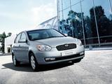 Photos of Hyundai Verna 2006–09