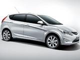 Photos of Hyundai Verna Hatchback (RB) 2011