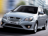 Hyundai Verna 2009–10 wallpapers