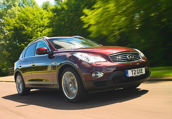 Infiniti Ex30d Uk Spec J50 201013 Pictures