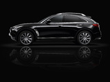 Infiniti FX Black and White (S51) 2013 photos