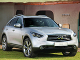 Photos of Infiniti FX50S ZA-spec (S51) 2012–13