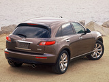 Pictures of Infiniti FX45 2003–06