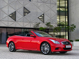 Images of Infiniti G37 Convertible ZA-spec (CV36) 2012–13