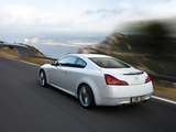 Infiniti G37S Coupe EU-spec (CV36) 2008–10 wallpapers