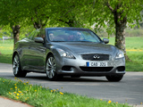 Infiniti G37 Convertible EU-spec (CV36) 2009–10 wallpapers