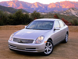 Photos of Infiniti G35 (V35) 2002–04
