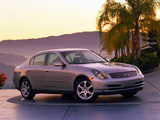 Pictures of Infiniti G35 2002–05