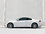 Pictures of Infiniti G35 Coupe (CV35) 2005–07