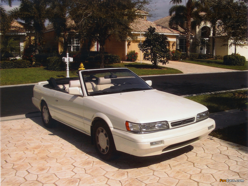 Infiniti m30 convertible f31 1990 92 photos 1024 x 768