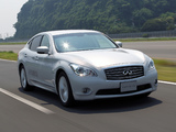 Infiniti M35h JP-spec (Y51) 2011–13 wallpapers