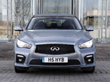 Images of Infiniti Q50S Hybrid UK-spec (V37) 2013