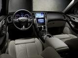 Infiniti Q50S Hybrid EU-spec (V37) 2013 images