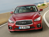 Pictures of Infiniti Q50 2.2d (V37) 2013