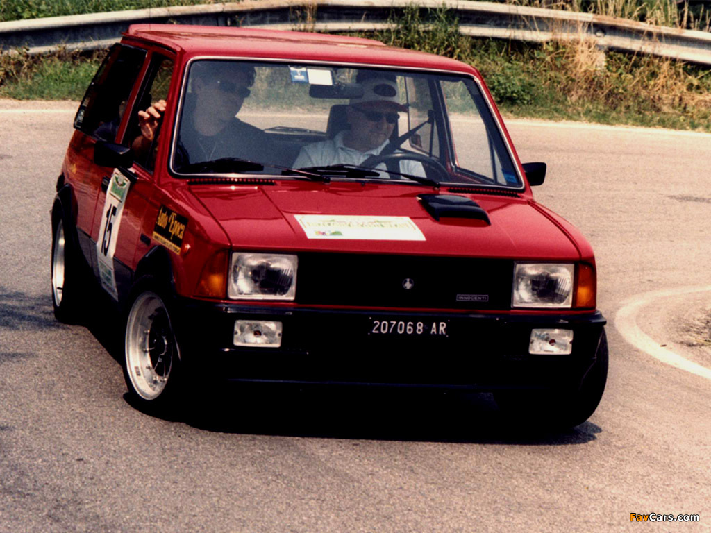 Innocenti Mini de Tomaso Turbo 1983–88 pictures (1024 x 768)